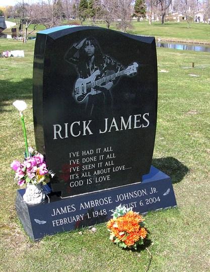 Black to the Music - Rick James - 09 - RIP Rick James
