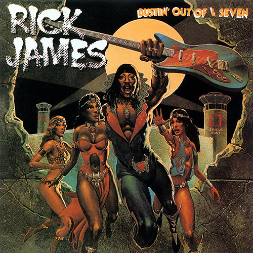 Black to the Music - Rick James - 1979 - Bustin' Out Of L Seven