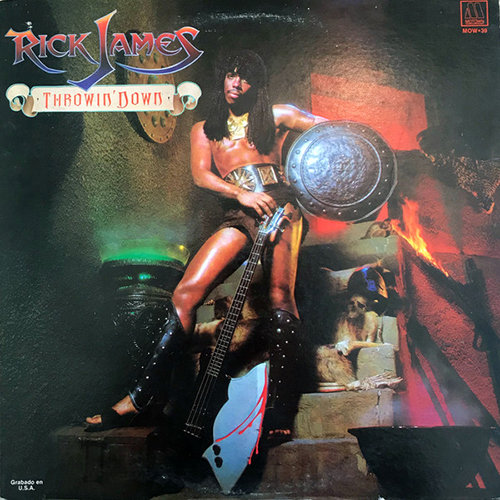 Black to the Music - Rick James - 1982 - Throwin' Down