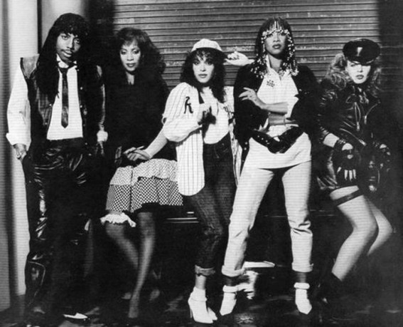 Black to the Music - Rick James and Mary Jane Girls
