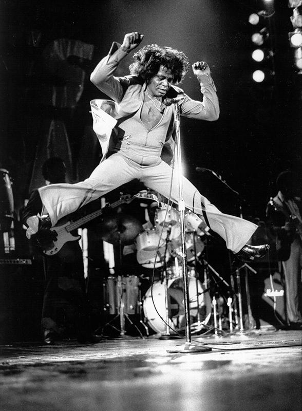 Black to the Music - James Brown B3 circa 1980 (c) David Corio / Michael Ochs - Getty Images