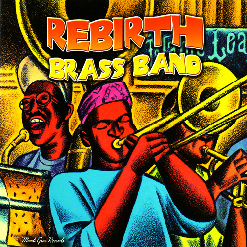 Black to the Music - Rebirth Brass Band - 1999 Main Event- Live At The Maple Leaf