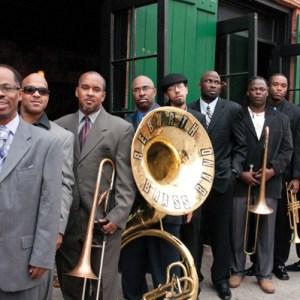 Black to the Music - Rebirth Brass Band - G15