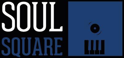 Black ot the Music - Soul Square - logo bleu