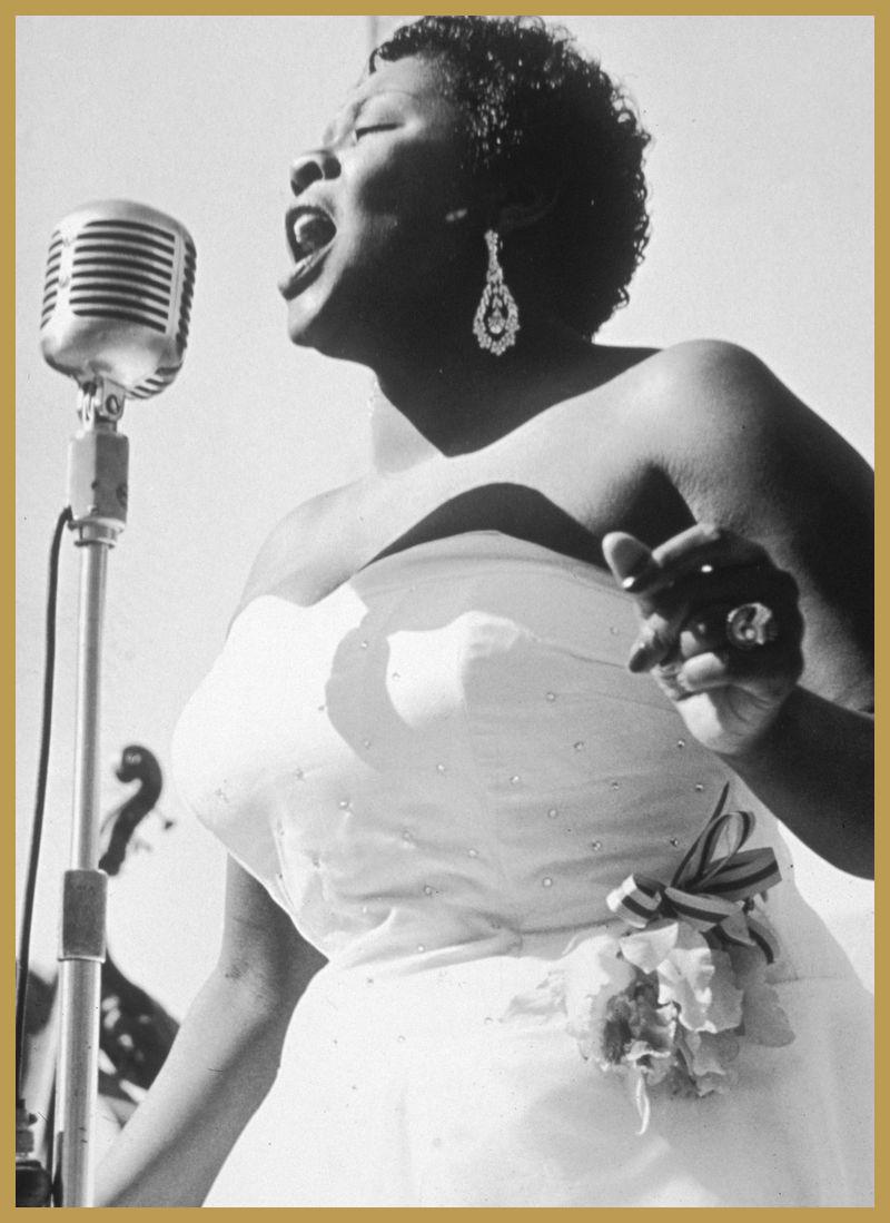 Black to the Music - Dinah Washington