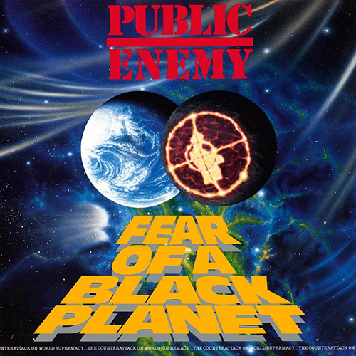 Black to the Music - Public Enemy 1990 Fear Of A Black Planet