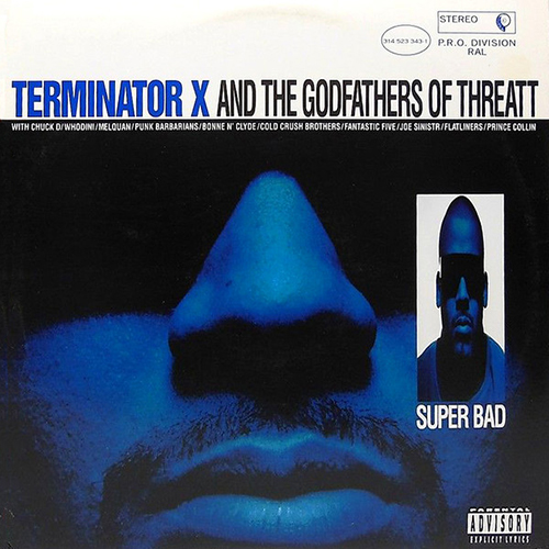 Black to the Music - Terminator X 1994 Superbad