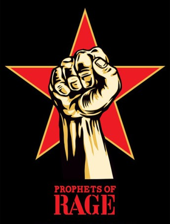Black to the Music - logo Prophets Of Rage 01