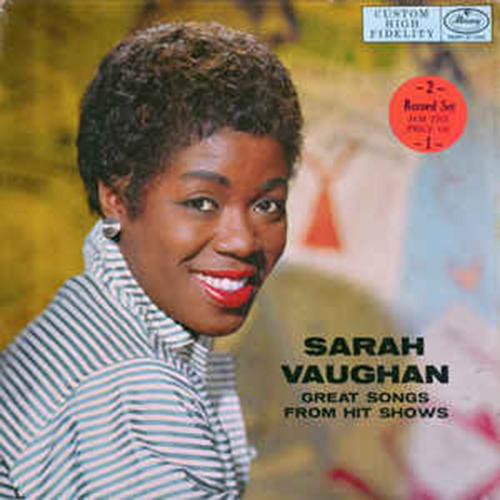 Black to the Music - 1957 Sarah Vaughan – Great Songs From Hit Shows