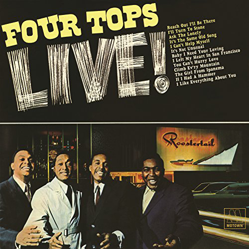 Black to the Music - The Four Tops - LP 03-1966 Live