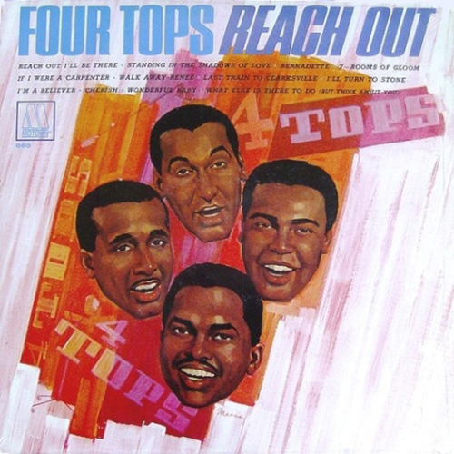 Black to the Music - The Four Tops - LP 05-1967 Reach Out