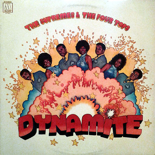 Black to the Music - The Four Tops - LP 14-1971 Dynamite