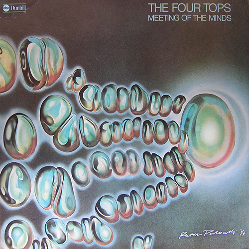 Black to the Music - The Four Tops - LP 18-1974 Meeting For The Minds