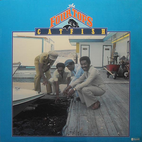Black to the Music - The Four Tops - LP 21-1976 Catfish