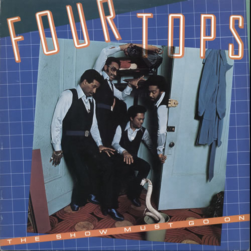 Black to the Music - The Four Tops - LP 22-1977 The Show Must Go On