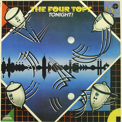 Black to the Music - The Four Tops - LP 24-1981 Tonight