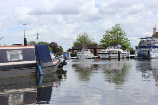 West Stockwith Basin - our mooring