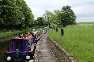 Mooring at Forest Lock No 55