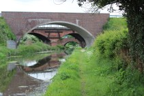 Three bridges going into Worksop
