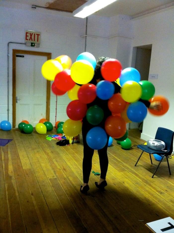 Ballon lady