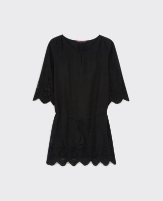 Comptoir des Cotonniers - Robe avec broderies Noir