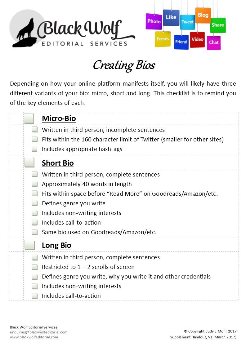 Front Page of Basic Online Platform Checklist