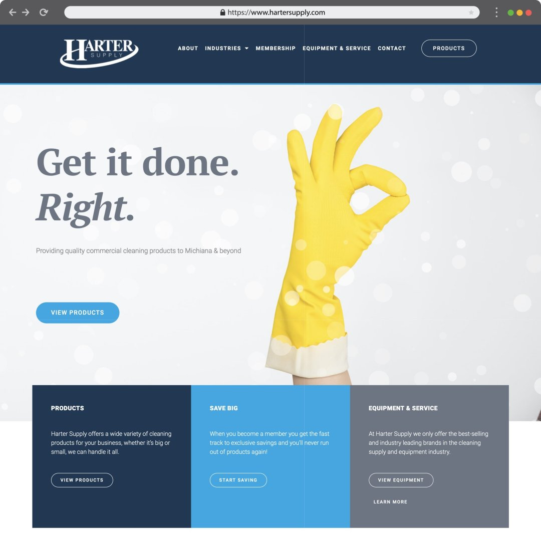 website design blackwood creative