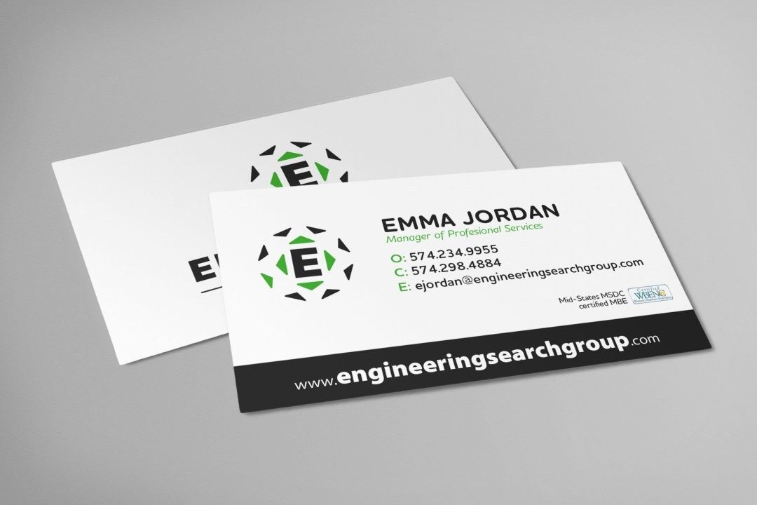 ESG Business Card Rebrand