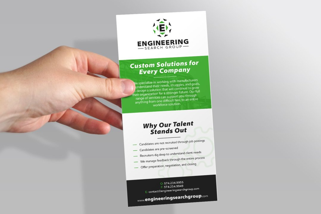 ESG Rack Card Rebrand