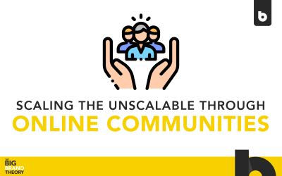 Scaling the Unscalable in Online Community: The Big Brand Theory