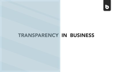 Transparency: The Solution To All Your Marketing Problems