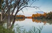 Murray River Sunset Chowilla Station - Sam Savage