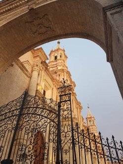 Kathedrale in Arequipa