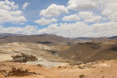 Colca-Canyon_Felsformationen_2