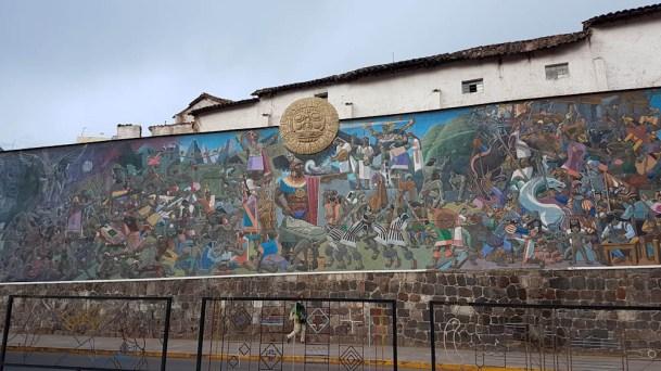 Streetart in Cusco