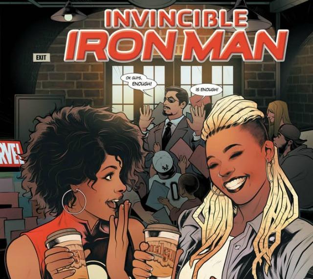 marvel Black woman iron man