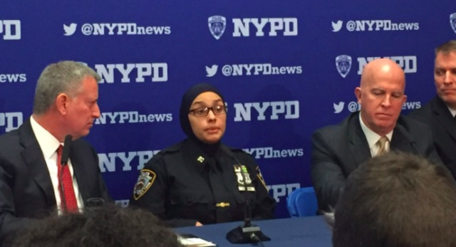 Muslim NYPD Officer Threatened With Hate Crime