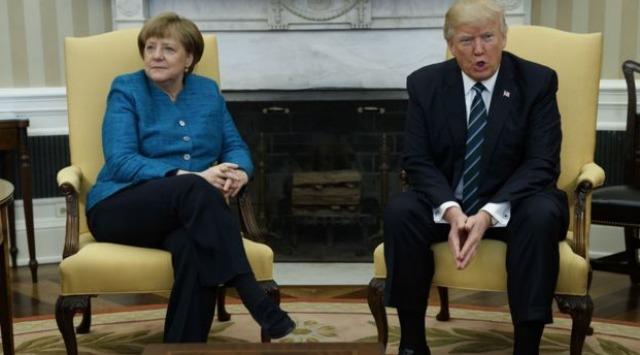 Donald-Trump-Angela-Markel