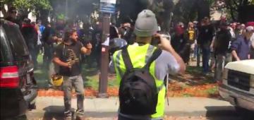 Berkeley California Trump rally