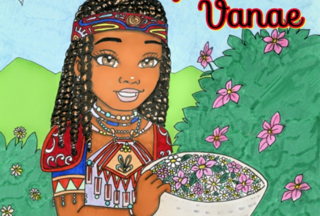 6-Year-Old, Vanae James-Bey, created a coloring book to explore black Indigenous cultures