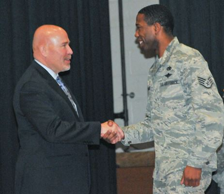 Airman Mario Manago fired and convicted of federal crime after being 6 minutes late to meeting
