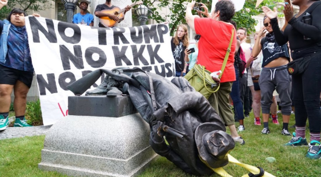Takiyah Thompson charged in removal of Confederate statue in Durham
