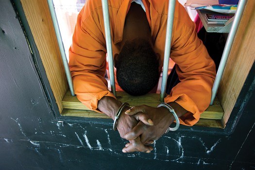 Prisons increasingly employ teachers and secretaries to substitute for guards