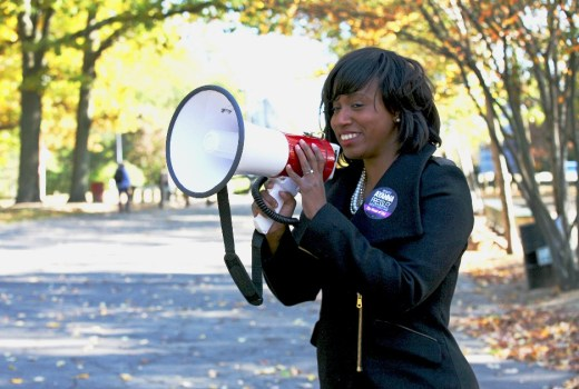 """Race is a factor in everything"": Mass. progressive challenger Ayanna Pressley defends against charges of ""ID politics"""