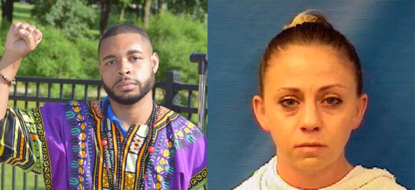 In another story, Micah Johnson kills Officer Guyger before she can murder Botham Jean