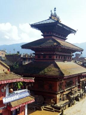 View from Nyatapola temple