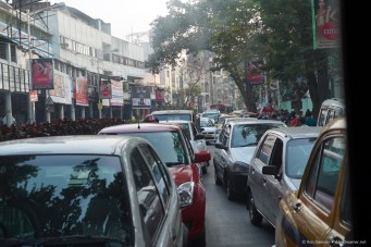 Just a typical day in Kolkata traffic.