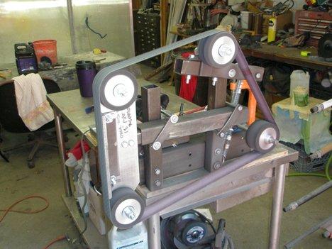Build Diy Free 2 215 72 Belt Grinder Plans Pdf Plans Wooden