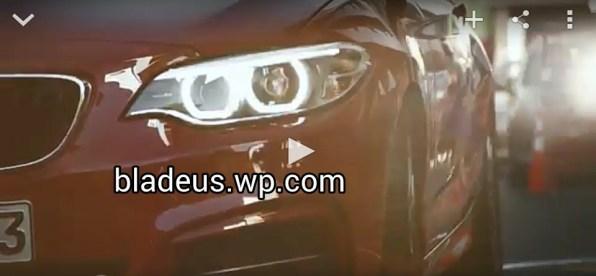 BMW M235i Drift Mob 1