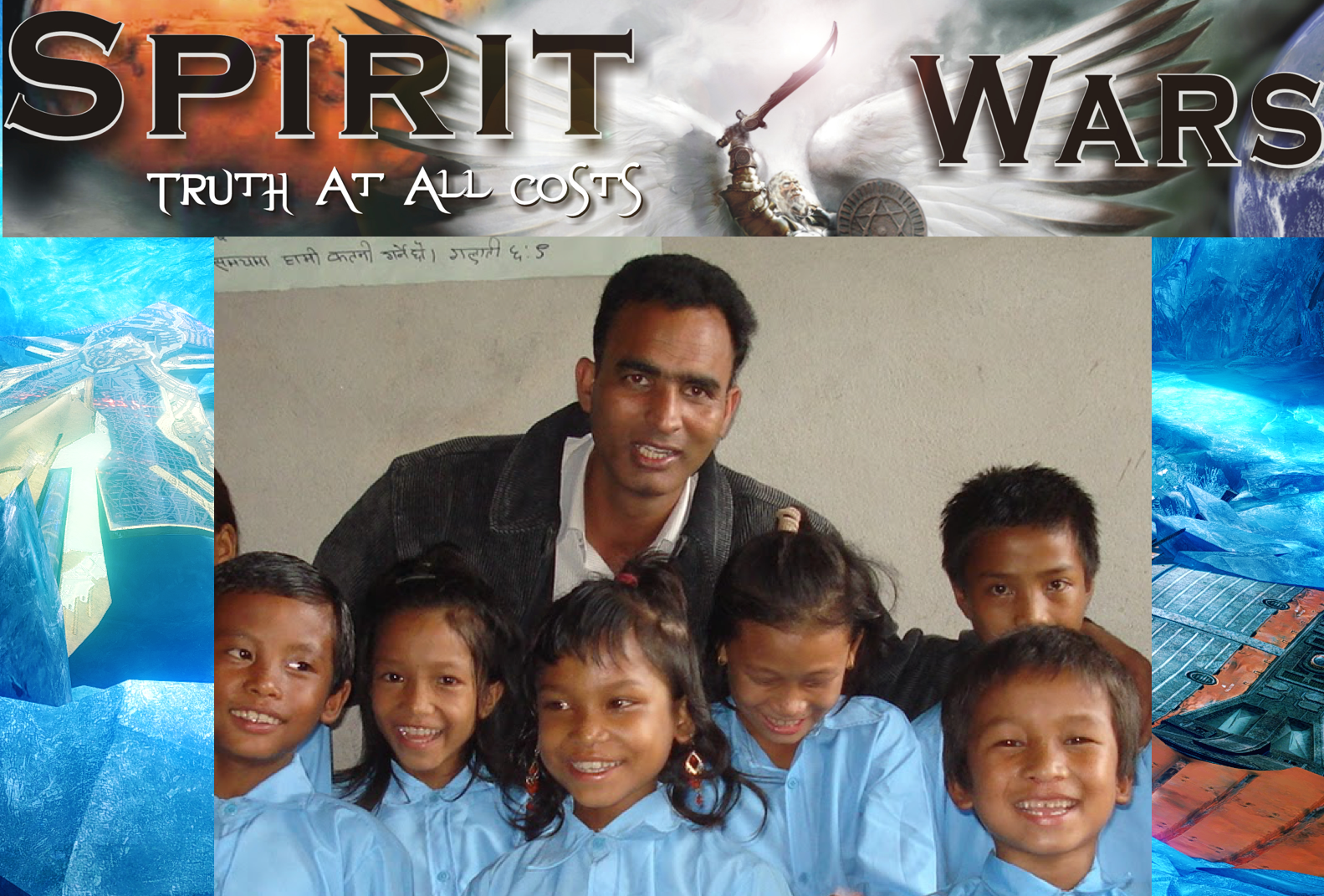 Matthew Suroya of the Masiha World Mission: SpiritWars 000000026